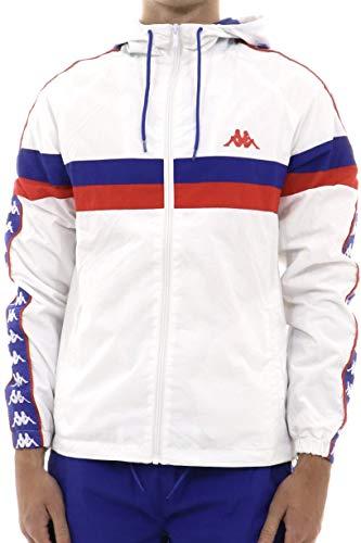 Kappa Chaqueta Bellagio 904 White Blue Royal Red M