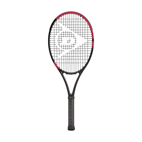 Dunlop Sports Team 285 - Raqueta de tenis preencordada, agarre 1/4