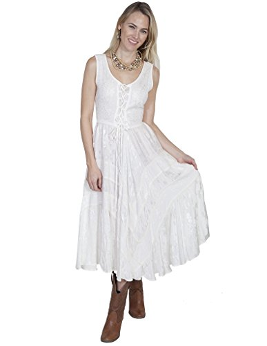 Scully Honey Creek Amelie Dress Ivory Large
