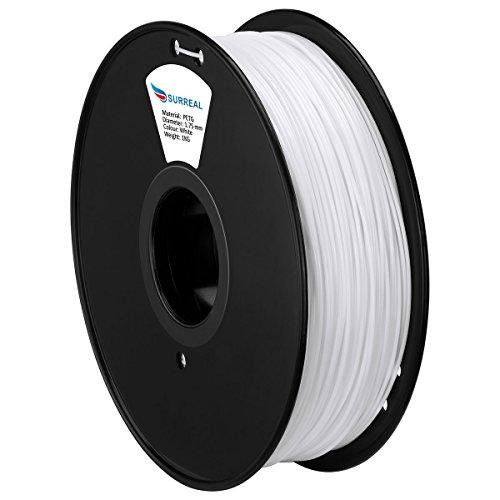 Surreal PETG 3D Filament 1.75mm - Spool Of 1KG - Colour : White
