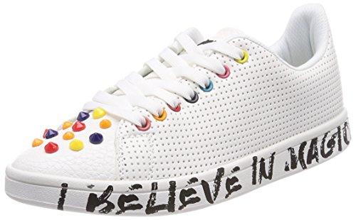 Desigual Damen Shoes_Cosmic Candy Sneaker, Weiß (1000 Blanco), 37 EU