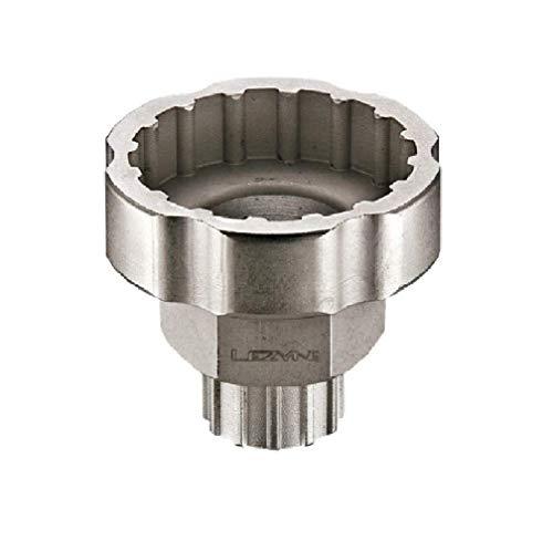 Lezyne, Utensile per movimento centrale bici, Argento (silber), Standard, Per Chiave da 32 mm