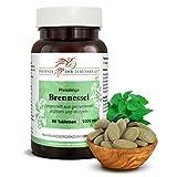 Brennessel Tabletten à 1000mg (Urtica dioica, Brennnessel), 80 Tabletten, Premium Qualität, Hergestellt in Österreich, Tabletten statt Kapseln, Vegan
