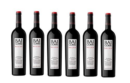 Baigorri Vino Tinto Belus - 6 Botellas - 4500 ml