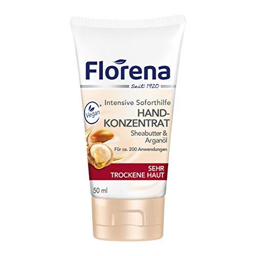 Florena Hand-Konzentrat mit Sheabutter und Arganöl, Vegan, 1er Pack (1 x 50 ml)