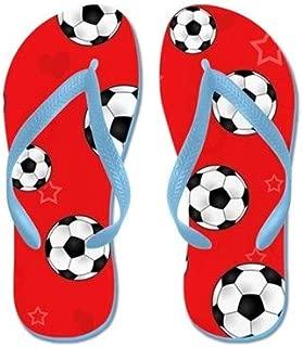 Lplpol Penguin Lover Flip Flops for Kids Adult Beach Sandals Pool Shoes Party Slippers Black Pink Blue Belt for Chosen