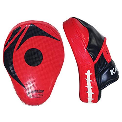 JF-XUAN. 2 Stücke Boxhandschuhe Pad für Thai Boxen Taekwondo Handschuhe MMA Training PU Foam Boxer Target Pad Focus Boxenmatte