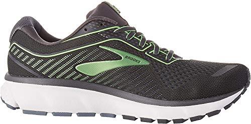 Brooks Men's, Ghost 12 Running Shoe Grey Green 8 D
