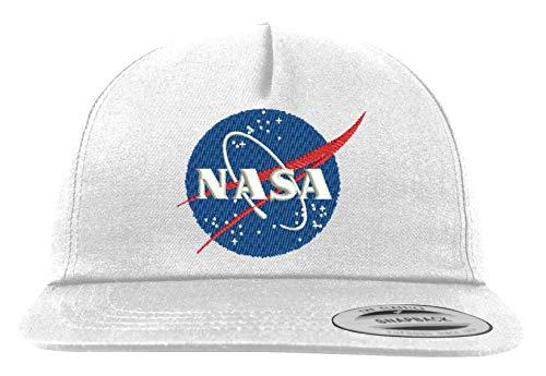 Youth Designz Snapback Cap Kappe Modell NASA - Weiß