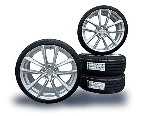 3er G20 / 20 Zoll Breyton BR-I Sommer Kompletträder Felgen - passend für BMW - Hyper Silber - mit Continental Reifen - Eintragungsfrei ECE