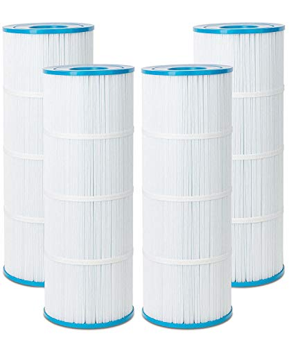 Future Way Pool Filter Cartridges Replacement for Pentair CCP320, Pleatco PCC80-PAK4, Unicel C-7470, R173573, Filbur FC-1976, 817-0081, Clean and Clear Plus 320, 4x80 sq. ft, 4 Pack