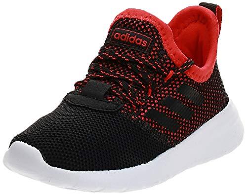 Adidas Lite Racer RBN K, Zapatillas de Deporte Unisex niño, Multicolor (Negbás/Negbás/Rojact 000), 31.5 EU
