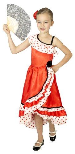Cesar - F231-003 - Costume - Déguisement - Danseuse Espagnole Cintre - 8 à 10 ans