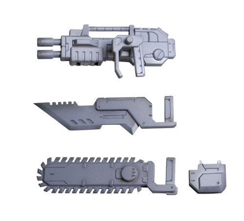 MSG Modeling Support Goods Series Weapons Unit 13 chainsaw (japan import)