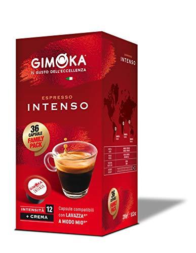 Gimoka - Capsule Compatibili Lavazza A Modo Mio, Gusto Intenso - 144 Capsule