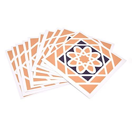 Placa para salpicaduras adhesiva de baldosas, baldosas de pelar y pegar fabricadas en PVC para cocina(18)