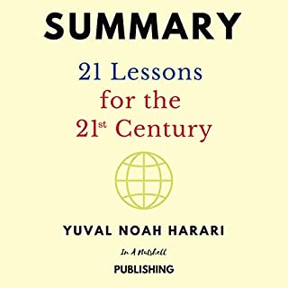 Summary: 21 Lessons for the 21st Century by Yuval Noah Harari audiobook cover art