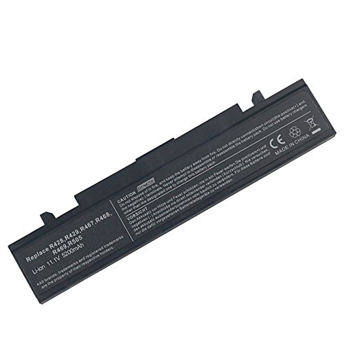 Exxact Parts Solutions Laptop Battery for Samsung AA-PB9NC6B AA-PB9NS6B AA-PB9NC6W AA-PB9MC6W NP300E5A AA-PB9MC6B P410 AA-PB9NS6W R428 R460 [Li-ion 11.1V 5200mAh 6 Cell]