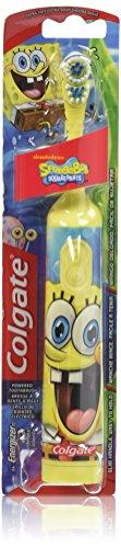 Colgate Kids Sponge Bob Powered Toothbrush, Extra Soft...