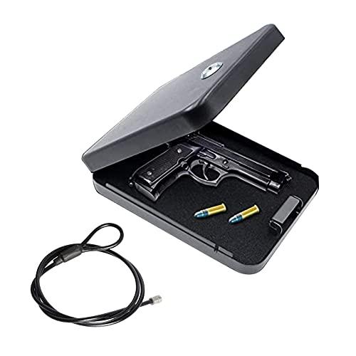 Elagorg Portable Hard Pistol Cases Small Combination Lock...