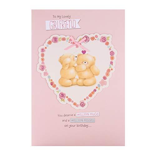 Verjaardagskaart voor vriendin van Hallmark - Forever Friends Design