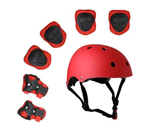 Creative Home Accessoires 7 Stuks Helm Beschermende Gear Set Veiligheid Pads Set voor Roller Scooter Skateboard Fiets (3-8 Jaar Oud)