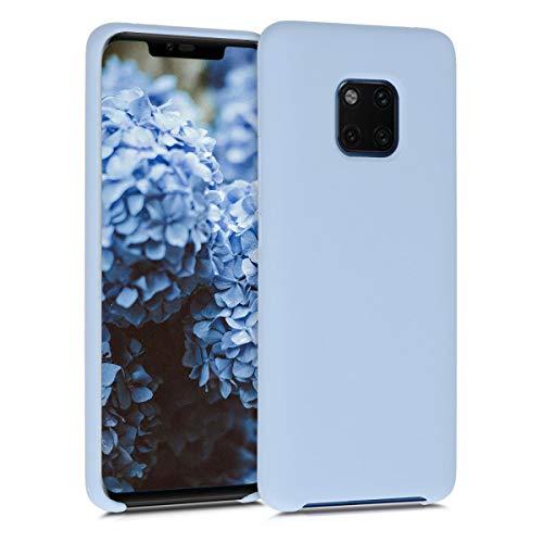 kwmobile Hülle kompatibel mit Huawei Mate 20 Pro - Hülle Handyhülle gummiert - Handy Hülle in Hellblau matt