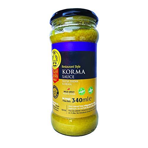 Salsa Korma 340 ml Tiger Khan (1)