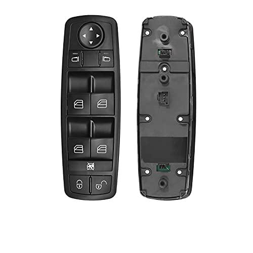 QWERQF A1698206610 1698206610 Interruptor del elevalunas eléctrico del Lado de la transmisión Delantera Izquierda,para Mercedes Benz Clase AB W169 X164 W251 2004-2012