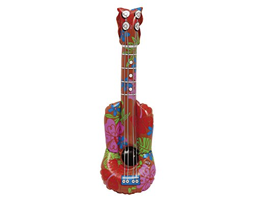 Desconocido My Other Me - Guitarra hawaiana hinchable, talla única (Viving Costumes MOM01572)