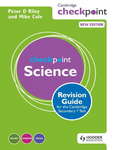 Cambridge Checkpoint Science Revision Guide for the Cambridge Secondary 1 Test (Cambridge Checkpoints) (English Edition)