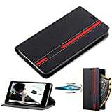 KYS Customised Leather Flip Wallet Case Stand with Card Holder Flip Cover