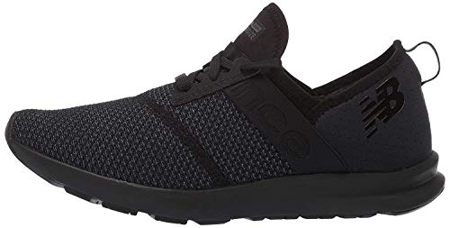 New Balance Women's FuelCore Nergize V1 Sneaker, Black/Magnet, 8 W US