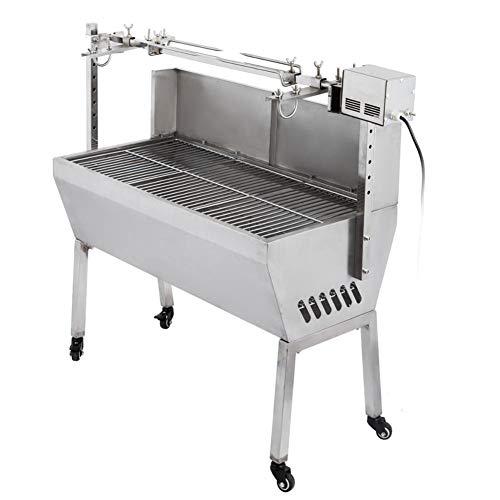 41nqSh4BY0L - DHYBDZ Grill, Grill, Elektrospießröster Grillgrill Raucher 132 Pfund Lager Grill Schweinespießröster Lammgrill mit Elektromotorgrill