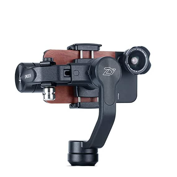 Universal 100g gimbal counterweight for balancing moment lens/phone case cover for zhiyun smooth 4 dji osmo mobile 2… 2 ►material: cnc made counterweights,anti-rust and durable to use. ►easy on easy off: 15mm-25mm universal mount can let you freely add flash, mic or other accessories but still balancing ►useage: enables you to add phone case or mobile lens setup on smartphone when use with gimbal.