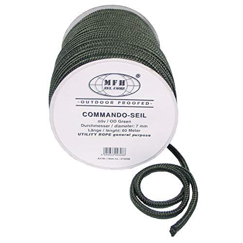 BW Seil 5mm Leine Fesseln Reepschnur 60 METER oliv 27505A