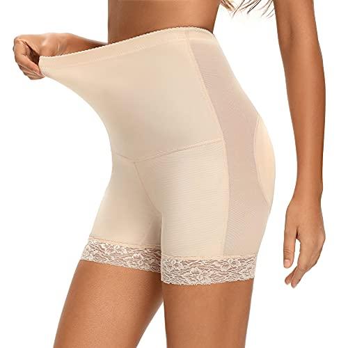 Joyshaper Hoch Taille Gepolsterte Miederhose Damen Unterhose Butt Lifter Padded Höschen Padded Po Push Up Panties