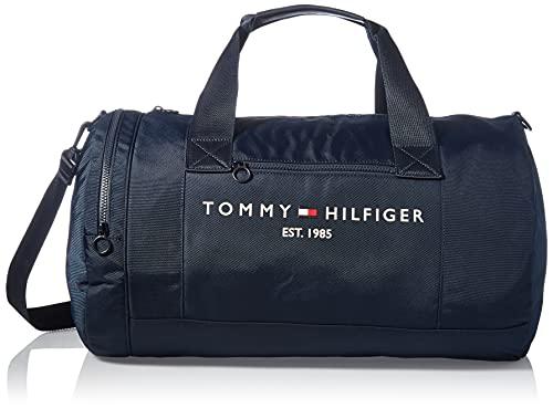 Tommy Hilfiger - Borsone da uomo, taglia unica, colore: Blu