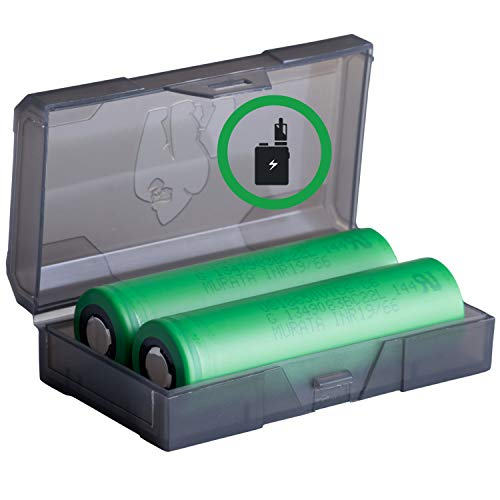 2 Konion Murata VTC6 18650 3120 mAh Akkus für eZigarette Batterien Akku Dampfen Akkus für dampfer + Akkubox