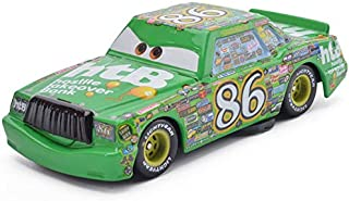 Pixar Cars Toys Tow Mater Monster Truck Mater & Lightning McQueen Series Diecast Toy Cars 1:55 Loose Kids Toys Vehicle (No. 86 Chick Hicks)
