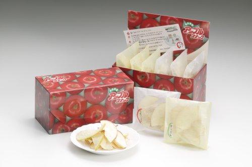 アップルスナック 小袋詰合せ (定番の赤袋と緑袋をお土産用として小分けにしました)