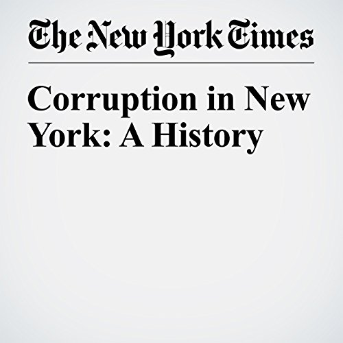 Corruption in New York: A History audiobook cover art