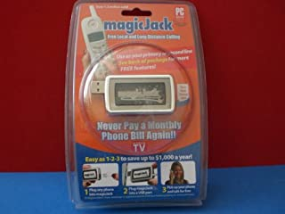 magicJack: PC to Phone Jack (B0011UXSHK)   Amazon price tracker / tracking, Amazon price history charts, Amazon price watches, Amazon price drop alerts