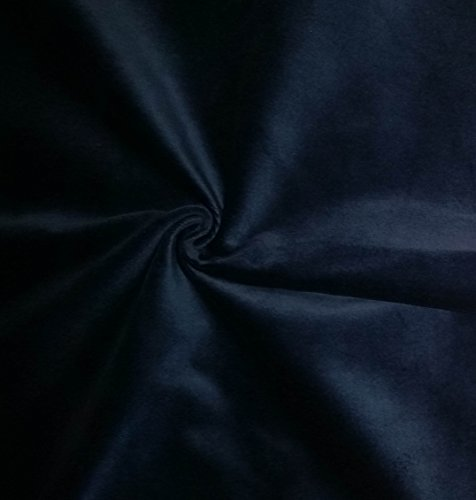 Quality Blue 100% Cotton Velvet Velour Fabric for Upholstery/Drapery/Crafts/Costumes Heavy 16oz Weight Thick Curtain Material Sold by The Yard at 54 inch Wide