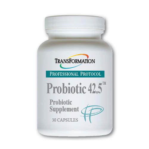 Transformation Enzymes - Probiotic 42.5, 30 Capsules - Maximum Strength Formula for Healthy Intestinal Balance