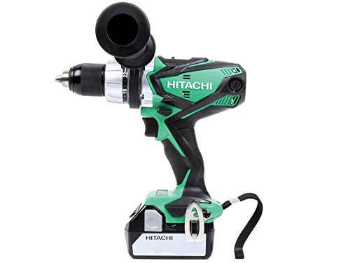 Hitachi DV18DSDL Perceuse visseuse à percussion avec 2 batteries 18 V/5 Ah
