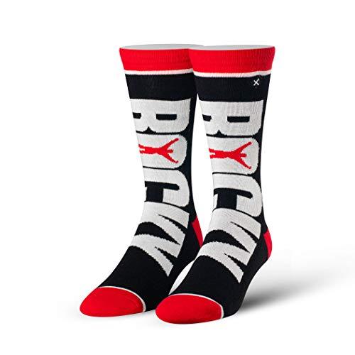 Odd Sox, Unisex Filme Rocky Balboa Crew Socken Neuheit Crazy Cool Silly 80er Jahre - -