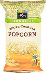 365 Everyday Value, Organic Popcorn, White Cheddar Cheese, 4 oz