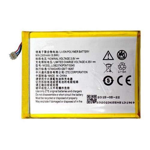 Synergy Digital Battery Compatible with ZTE Li3823T43P3h715345 Wireless Router Battery - (Li-Pol, 3.8V, 2300 mAh)