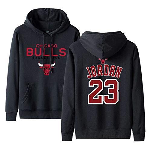 Bulls Man No23 Pullover Hoodie Basketball Sport Pullover Herren Frühling und Herbst Winter Hoodie 5-6XL
